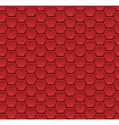 Abstract seamless pattern background with hexagon vector image vector image
