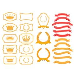 banner frames vector image