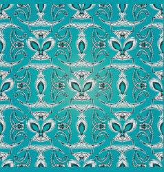 abstract embroidery seamless pattern light vector image