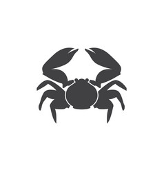 crab graphic design template isolated vector image