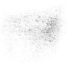 Dust texture white and black vector image