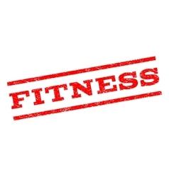 Fitness watermark stamp vector