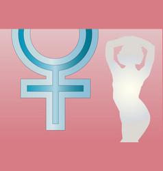 goddess venus vector image