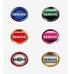 Remove icon vector