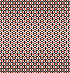 Sushi rolls seamless background pattern vector image