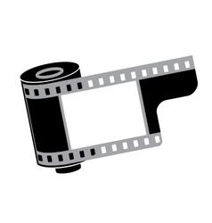 Camera film roll vector image vector image