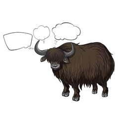 A bison with empty callouts vector