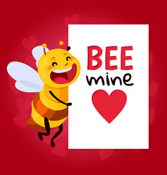 bee be my honey vector image