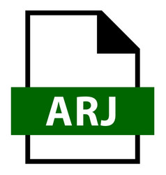 File name extension arj type vector