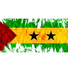 Flag of Sao Tome and Principe vector