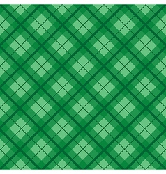 Green Tartan Diamond Background vector