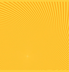 spiral background from twisting rays vector image
