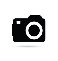 camera sign vector image vector image