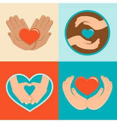 charity vector image vector image