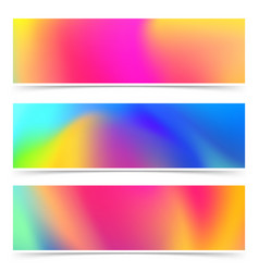 Abstract bright holi colorful cards collection vector