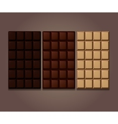 Chocolate bars icon vector image