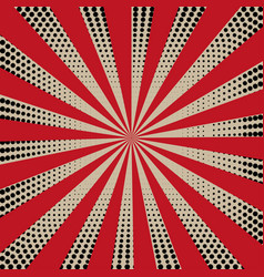 grunge sunburst vintage background and texture vector image