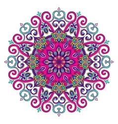 New Round Mandala-04 vector image