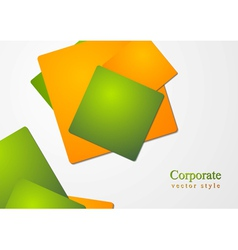 Abstract business corporate design vector image vector image
