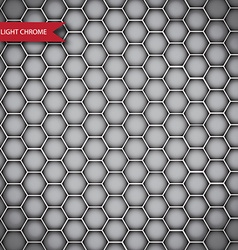 Abstract chrome metal texture isolated vector image vector image