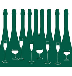 Bar menu ilustration vector