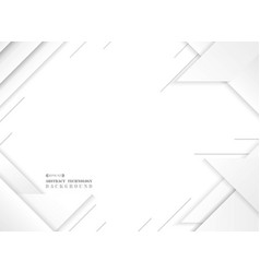 abstract of futuristic gray white geometric vector image