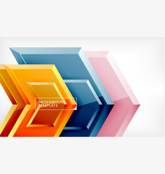 arrow geometrical abstract background directional vector image