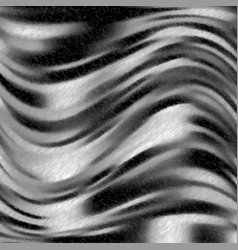 Black and white wavy speckled background vector