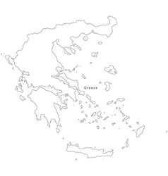 Greece Outline Map Vector Images (over 380)
