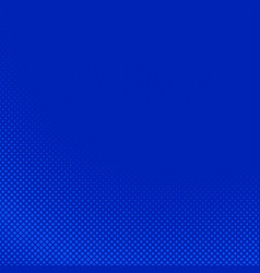 blue geometric abstract halftone square pattern vector image
