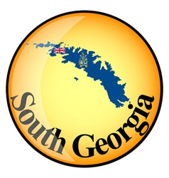 button South Georgia vector image