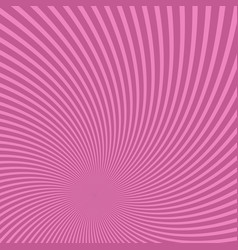 geometrical spiral pattern background vector image