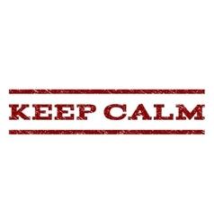 Keep Calm Watermark Stamp vector