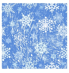 snowflake background01 vector image