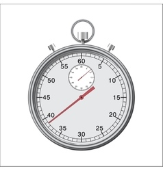 Stopwatch or chronometer vector