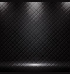 Studio luxury sofa background and texture vector