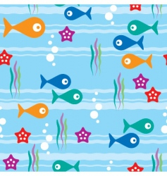 sea seamless background vector image vector image