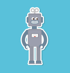 robot electric toy baby vector image vector image