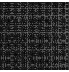 400 black puzzles vector image