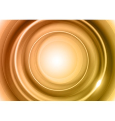 background bronze light center big vector image vector image