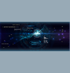 big data algorithms vector image