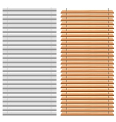 Blinds set vector image