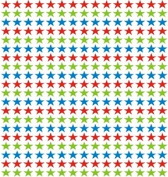 Colorfull Star Background vector image