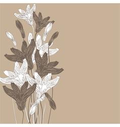 cornflowers background nude vector image