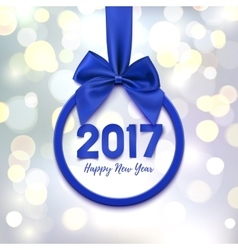 Happy New Year 2017 banner vector