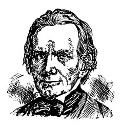 Henry clay vintage vector