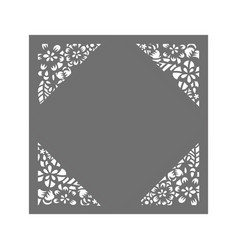 Laser cut template vector