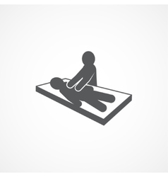 Massage Icon vector image