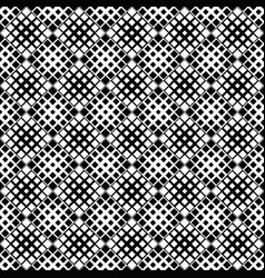 seamless black and white geometrical square vector image