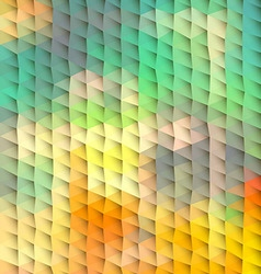 Plastic abstract polygonal background vector image vector image